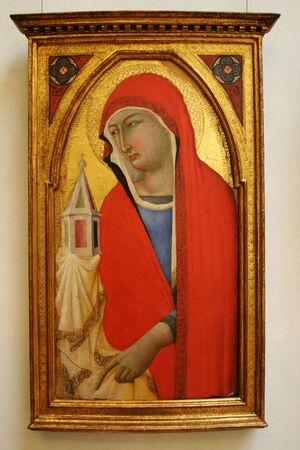 聖母マリア、マドンナ、古典絵画 報道画像