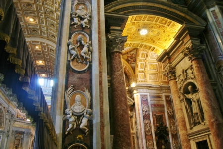 st  peter's basilica pope: St  Peter s Basilica, Rome