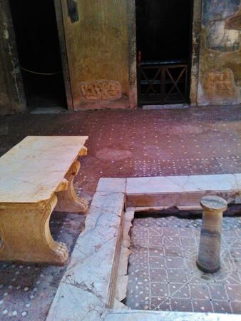 Pompeii ancient bath house