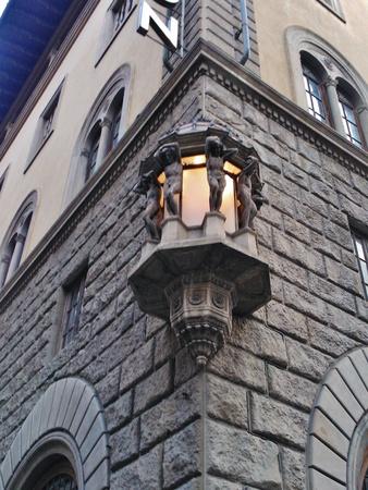 Florence lamp at night