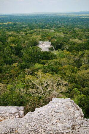 カラクムール頂上からの眺め