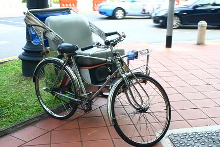trishaw: Trishaw bicycle Singapore, old transport tour