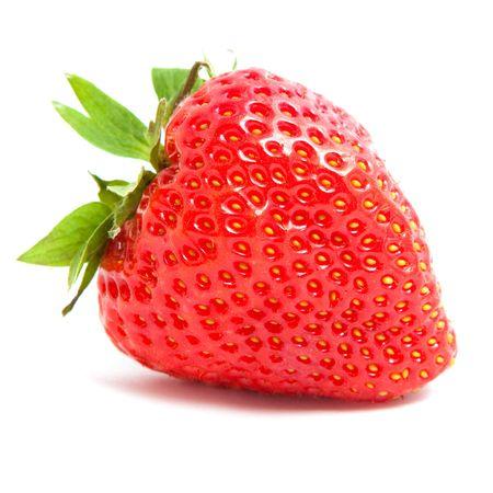 strawberry on white background Standard-Bild
