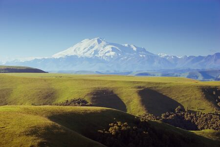 Elbrus Caucasus mountains photo