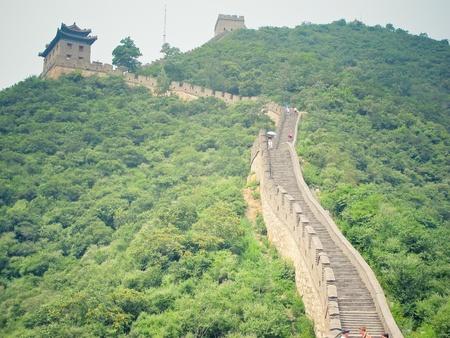 Great Wall of China Standard-Bild