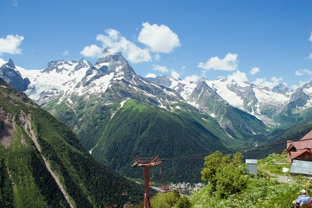 Caucasus Mountains, Dombai photo