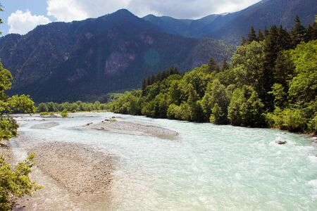 river in mountains Stock Photo - 9641883