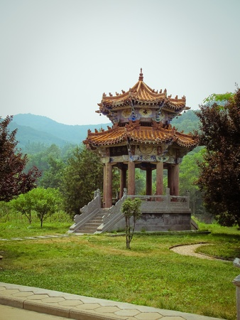 Shaolin Temple in Dengfeng of Henan Province, China.