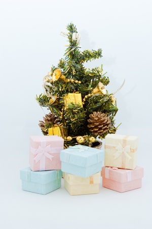 Christmas Tree and decorations Stock Photo - 10844966