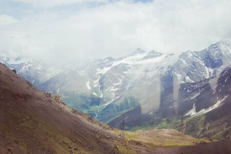 beautiful mountain landscape, Elbrus  photo