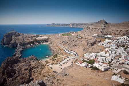 Isole greche - Rodi, Lindos Bay photo