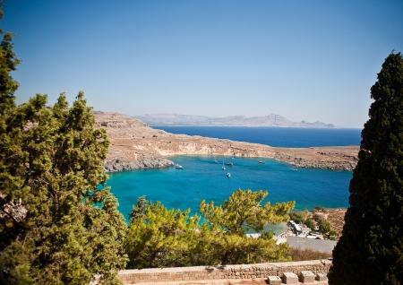 lindos: Greek islands - Rhodes, Lindos bay