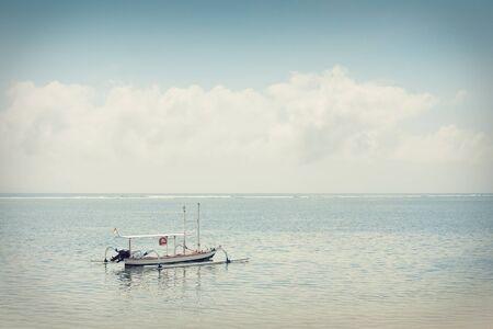 local fishing boat  Bali , Indonesia Stock Photo - 17128628