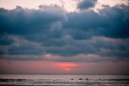 Bali Kuta Beach sunset photo