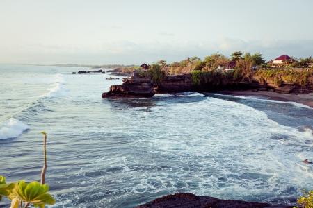 Coast of Indian ocean Bali, Indonesia Stock Photo - 16772072