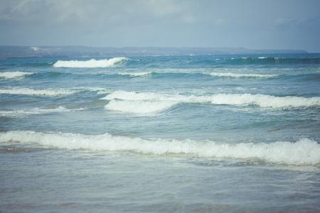 Ocean waves  Indian ocean  Bali  Indonesia  photo
