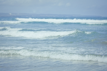 Ocean waves  Indian ocean  Bali  Indonesia Stock Photo - 17127142