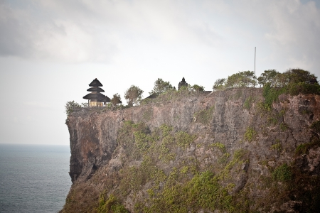 View of Pura Uluwatu temple, Bali, Indonesia Stock Photo - 17128646