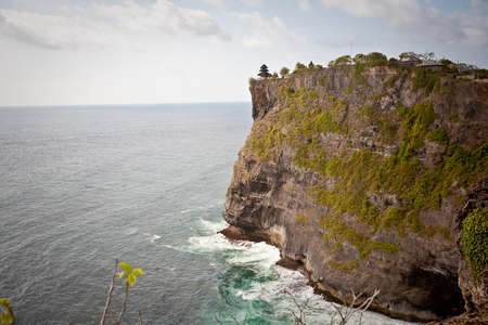 View of Pura Uluwatu temple, Bali, Indonesia photo