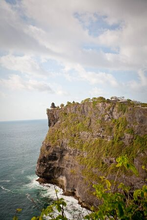 View of Pura Uluwatu temple, Bali, Indonesia Stock Photo - 17128824