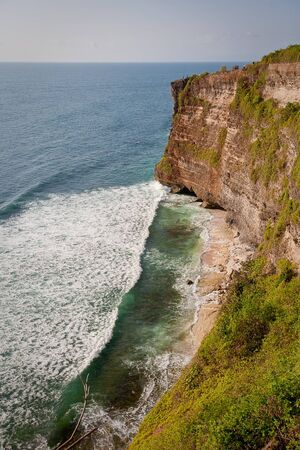Coast of Indian ocean Bali, Indonesia photo