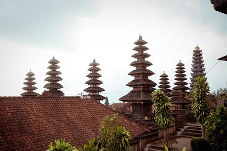 Besakih complex  Pura Penataran Agung , Largest hindu temple of Bali, Indonesia Stock Photo - 17644706