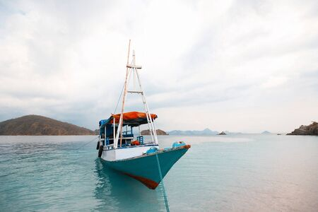 local fishing boat  Indonesia photo