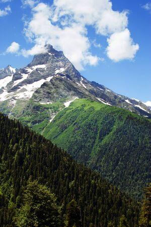 dombay: Caucasus Mountains  Region Dombay