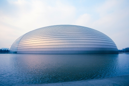 China National Grand Theater   National Center for the Performing Arts   - February 5,2013 in Beijing, China
