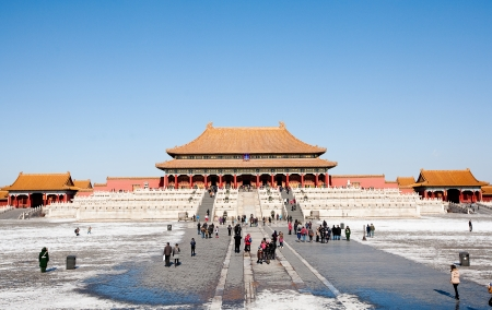 The Forbidden City view