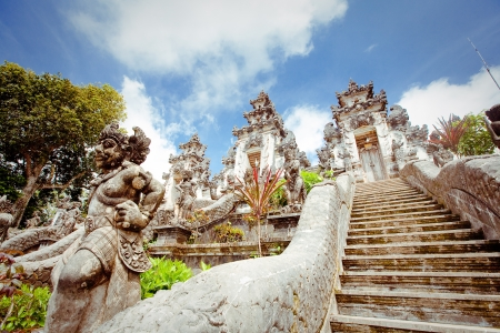 Pura Lempuyang temple. Bali, Indonesia photo