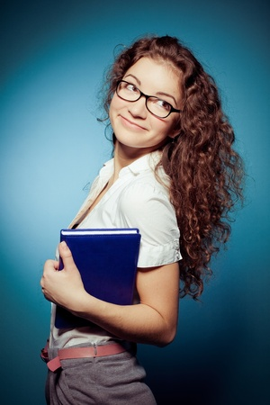 smiling student woman  photo