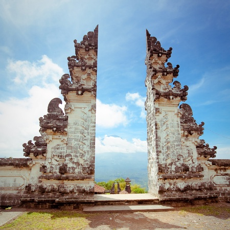 Pura Lempuyang temple  Bali, Indonesia Standard-Bild