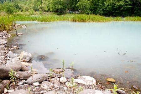 turbid: The unique blue turbid lake