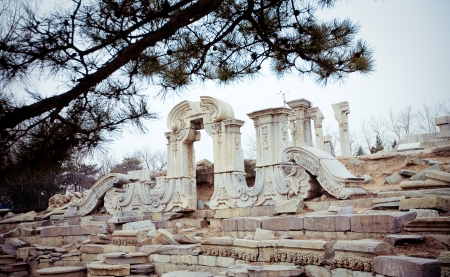 Yuanmingyuan, Old Summer Palace in Beijing, China photo