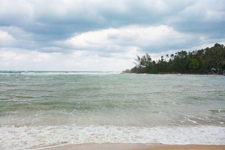 koś: Tropical beach on Ko  Ma near Ko Phangan, Thailand Stock Photo