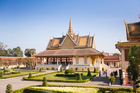 프놈펜, 캄보디아 로얄 팰리스