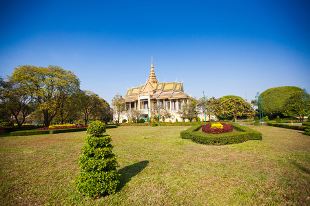 phnom phen: Royal Palace in Phnom Penh, Cambodia