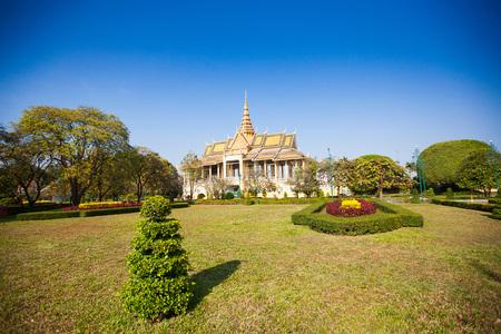 penh: Royal Palace in Phnom Penh, Cambodia
