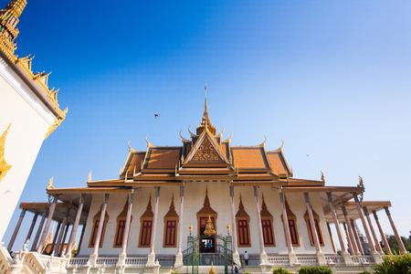 phnom penh: Royal Palace in Phnom Penh, Cambodia