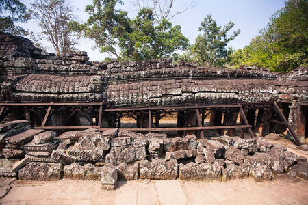 cambodge: Banteay Kdei in Siem reap ,Cambodia, was inscribed on the UNESCO World Heritage List in 1992.