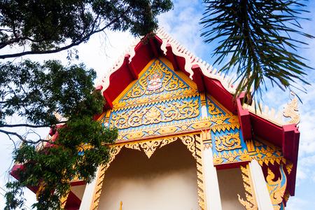Hainan Chinese Temple, Koh Samui island, Thailand photo