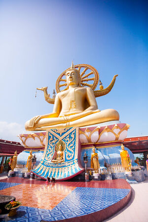 Big Buddha Temple in Koh Samui island, Thailand photo