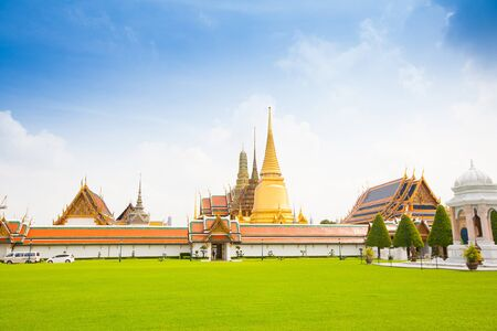 Royal grand palace in Bangkok city, Thailand