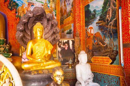 Wat Phra That Doi Suthep is a major tourist destination of Chiang Mai, Thailand