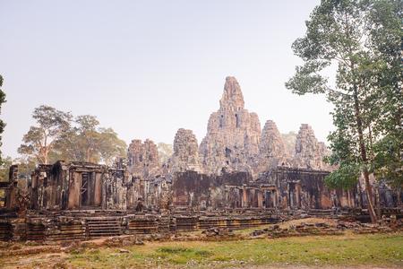 bayon: Bayon temple,siem reap ,Cambodia  Editorial