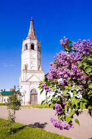 nicholas: St. Nicholas (Svyato-Nicholskaya) church in Suzdal, Golden ring of Russia Stock Photo