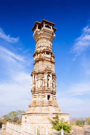 jagmandir: Fort Chittorgarh  in Chittor India. Rajasthan. Kirti Stambha Editorial