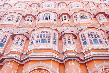 Hawa Mahal or Place of winds or breeze. Jaipur city, Rajasthan, India Stock fotó