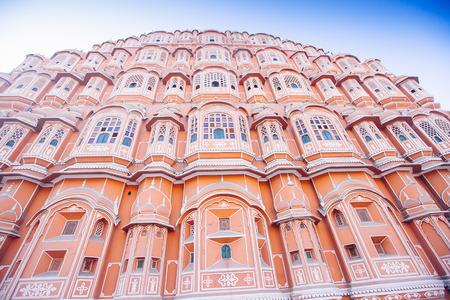 Hawa Mahal or Place of winds or breeze. Jaipur city, Rajasthan, India Sajtókép